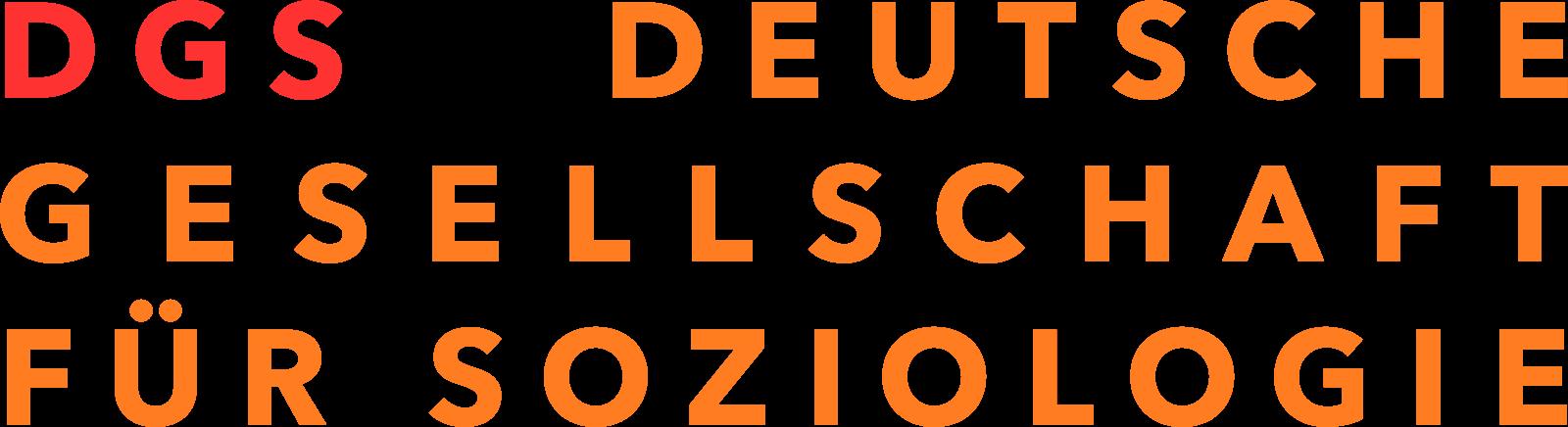 Logo der Deutschen Gesellschaft für Soziologie